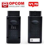 opcom pic18f458 toptan satış-20 adet / grup PIC18F458 ile Yüksek kalite A + + + Opcom Yazılım 2014.02 Çip Can OBD2 Firmware V1.59 Opel Op com CAN BUS Arayüzü