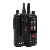 redes de vídeo venda por atacado-Original F22 + / F22 Além disso Android Inteligente ao ar livre Telefone Robusto Walkie Talkie Zello PTT 3G Rede Interfone Rádio Enhanced 3500 mAh Bateria DHL