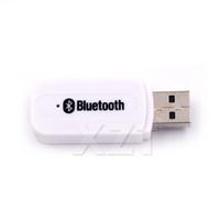 nuevo altavoz inalámbrico de caja al por mayor-Más reciente Bluetooth Aux USB Inalámbrico Bluetooth Estéreo Receptor de música Audio estéreo de 3,5 mm al altavoz Caja de sonido kit para auto