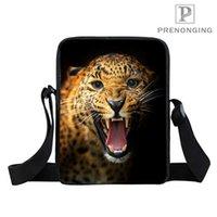 ingrosso sacchi di regalo del leone-Personalizzato Lion (1) Mini Messenger Shoulder Crossbody Bag handbag Adolescente Piccola borsa Kid Bags Bookbag Gift # 18-12-31-159