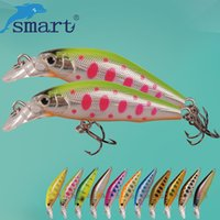 Wholesale sinking minnow lures resale online - inking minnow SMART Sinking Minnow Bait mm g Hard Fishing Lure Fake Feeder Baits Isca Artificial Para Pesca Leurre Peche Fishing Wo
