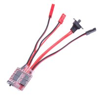 controlador esc al por mayor-brushed esc Synthetic 30A Mini Brush Brush ESC Controlador electrónico de velocidad para control remoto RC Piezas de repuesto para automóviles Accesorios para servo