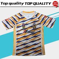 Wholesale tiger uniform online - New Tigers UANL Third Soccer Jersey Tigers UANL rd jersey Adult Soccer Shirt Mexico Club Football Uniform Sales
