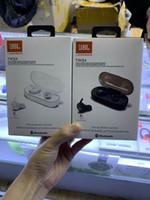 mini auriculares deportivos al por mayor-Mini JB inalámbrico Bluetooth 5.0 Auriculares estéreo Auriculares deportivos Auriculares intrauditivos Auriculares con conector de carga para teléfono inteligente