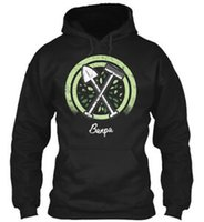 englische gartenarbeit großhandel-Banpa englischer Großvater Veggie Gardening Shirt Hoodie Sweatshirt