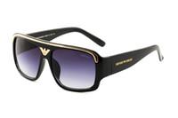 kaliteli kadın güneş gözlüğü toptan satış-Lüks-medusa Yüksek Kalite Marka EA Güneş gözlükleri erkek Moda Güneş Gözlüğü Tasarımcı Gözlük erkek Womens Için Güneş gözlükleri ile yeni gözlük kutusu