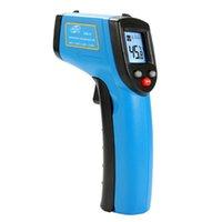 термометр высокой температуры оптовых- High-precision Hand-held Temperature Gun Industrial Electronic Thermometer Oil Temperature Meter