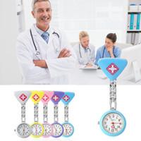 diseño de la cadena india para los hombres al por mayor-Nueva moda mujer enfermera colgante bolsillo reloj de cuarzo reloj creativo colgando Moda mujer enfermera reloj
