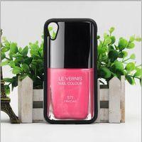 telefones rosa lg venda por atacado-Frete grátis phone case luxo rosa unha polonês capa para iphone x xs xr max 6 6 s 7 8 além de samsung s6 s7 borda s8 s9 s10 plus nota 8 9 casos