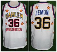 Wholesale 36 jersey resale online - Meadowlark Lemon Harlem Globetrotters Retro Classic Basketball Jersey Mens Stitched Custom Number and name Jerseys