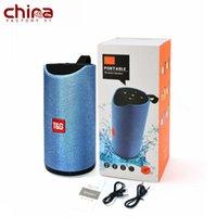 ingrosso porcellana senza fili bluetooth altoparlanti-Porcellana 1200mAh TG113 Altoparlante senza fili Bluetooth 4.2 Bluetooth TF-card FMU diskplayback Supporto AUX Bluetooth FM MP3 USB