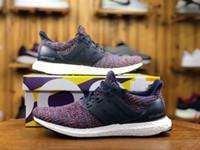 online shopping оптовых-Магазин UltraBOOST 4.0 Uncaged Ultra повышает обувь онлайн. Высокое качество True Size 11 США тройной черный белый многоцветный мужчины кроссовки
