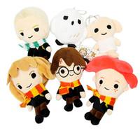 vokaloid peluş toptan satış-6 adet / grup Harry Potter Peluş Oyuncaklar S Versiyonu Baykuş Peluş Kolye Çocuklar Kız Çocuklar için Doğum Günü Hediyeleri Oyuncak Için 0601946