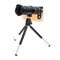 selfie flaş gece ışık cep telefonu toptan satış-Ücretsiz Kargo Evrensel 4 K HD 18-30X Zoom Cep Telefonu Lens Mobil Teleskop Telefoto Dış Lens MY18-30 ile Ince MC UV 37 MM