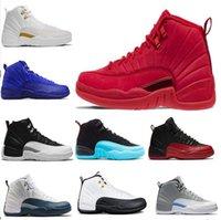 kesme oyunları toptan satış-2019 Erkek ve Bayan Basketbol Ayakkabıları Sneakers 12 S XII Grip Oyunu Kraliyet Taksi Erkekler için Fransız Mavi Spor Ayakkab ...