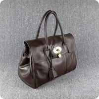 kuhknöpfe großhandel-Designer Frauen Handtaschen Luxus weichen Rindsleder 38cm Breite Reise Totes Metallknopf aus erster Hand Preise versandkostenfrei