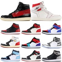 ingrosso couture di scarpe-COUTURE 1s Mens Basketball Shoes 1 No L's Phantom UNC Union Banned Bred Toe Omaggio a Home Man Trainer Sport Sneakers 7-13