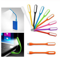 Wholesale computer reading books for sale - Group buy Mini Flexible USB LED Lamp Portable Super Bright Book Light Reading Lamp For Power Bank Computer Notebook