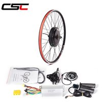 Wholesale motor kits for bikes for sale - Group buy ebike Conversion Kit V W hub Motor Wheel Kit for in C Electric Bike