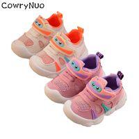 ingrosso scarpe suola-Sottopiede 12-14cm 2019 Scarpe per bambini Ragazzi Ragazze Scarpe basse traspiranti cavalcabili
