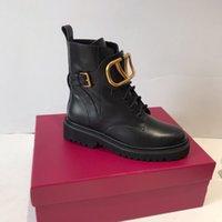 çizmeler yüksek topuk unisex toptan satış-2019 Lüks tasarımcı bayan botları Yeni Moda Akın Platformu Yüksek Topuklu Kadın Sonbahar Kış Rahat Ayak Bileği Çizmeler Ayakkabı 35-40 cx190803