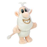 rusça çizgi film toptan satış-25 cm Rus Karikatür TV Booba Buba Peluş oyuncak Bebek Doldurulmuş Hayvanlar küçük beyaz domuz Peluş çocuk oyuncakları