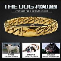 Wholesale choke collar dogs resale online - Dog Chain Collar Stainless Steel mm Slip Training Pinch Collars P Chain Choke Big Dog Collar for Medium Large Dogs Pet Pitbull