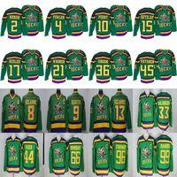 Wholesale mighty ducks resale online - Mighty Ducks Movie CCM Vintage jerseys Adam Banks Charlie Conway Paul Kariya Getzlaf Gordon Bombay Hockey Jersey