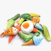 suministros de vegetales al por mayor-Simulación Vegetal Juguetes Para Perros Mordida Resistencia Chew Cat Vocal Juguete Palillo Hueso Suministros Para Mascotas Venta caliente4 2xx E1