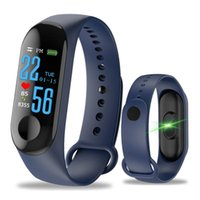 Wholesale walk pedometer for sale - Group buy M3 Color Screen Smart Bracelet Sports Pedometer Fitness Watch Running Walking Tracker Heart Rate Pedometer Smart Band