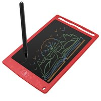 Wholesale kids educational tablet inch for sale - Group buy 8 inch Cartoon LCD Writing Tablet Digital Drawing Tablet Toys Early Educational Drawing mat for Kid Writing Board Child Gift