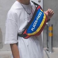 bolsa de viagem da cintura para as mulheres venda por atacado-Moda Feminina Homens Fanny Pacote Ocasional Unisex Sacos de Cintura Funcional Cintura Cinto Pacote Bolsa Com Zíper Bolsa de Ombro de Viagem À Prova D 'Água