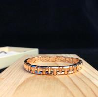 cadeia geométrica venda por atacado-Famoso designer T TRUE jóias pulseira Forma Geométrica carta cadeia pulseira de luxo mulher banquete festa acessórios presentes 3 cores