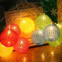 ingrosso luce decorativa coreana-Vendita calda più nuova 2018 farfalla fatta a mano creativa illuminazione coreana palla LED luci di notte decorazioni festival luci del partito