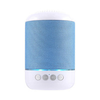 Wholesale mobile homes for sale - TG115 LED Bluetooth Mini Speaker Wireless Portable Loudspeaker TF USB Music Player FM Radio Mic for iPhone XS Plus Samsung Xiaomi