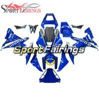 Wholesale full fairings bike resale online - Blue GO Motorcycle Fairing kit For Yamaha YZF1000 R1 Complete Plastic Pieces R1 Bike Bodywork Panels Full Bike Covers