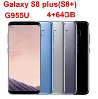 samsung phon venda por atacado-Samsung Galaxy S8 + S8 Além disso G955U Original Desbloqueado LTE Celular Android Octa Core 6.2