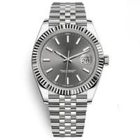 relojes al por mayor-19 relojes de lujo de estilo 41 mm 126333 126334 Reloj automático Reloj de diamantes Caja de papeles Correa de jubileo Movimiento de zafiro 2813 relojes para hombre relojes