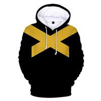 hoodie cinza escuro venda por atacado-X-Men Dark Phoenix Cosplay Moletom Com Capuz Camisola Jaqueta Jean Cinza Outfit Casaco Top Homens Adultos Mulheres