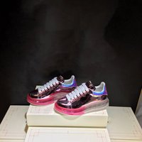 ботинки для боулинга оптовых-2019 Новый дизайнер боулинга женщины спорт запустить обувь горячий розовый продажа натуральная кожа плоское дно бесплатная доставка