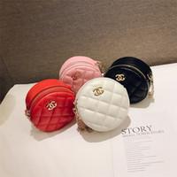 ingrosso sacchetti borsa rotonda mini-Borse per bambini della moda Ragazzi della coreana della moda Mini borse della principessa Progettista adorabile Borse rotonde delle ragazze Borse del corpo incrociato Borthday Gifts B