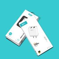 telefones ap venda por atacado-IZNC I25 Dual USB Charger 2.4A Plug de Carregamento Rápido para Ap Android TYPE-C Mobile Phone