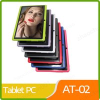 Wholesale 2019 Tablets Wifi Inch mb Ram gb Rom Allwinner A33 Quad Core Android Capacitive Tablet Pc Dual Camera Q88 A pb