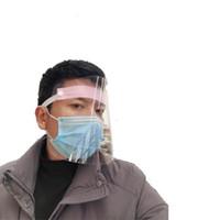 Wholesale full face mask shield resale online - Man Women Full Face Shield Unisex Masks Windproof Elastic Force Anti Saliva Transparent Protective Mask Fashion Popular ty UU