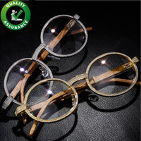 Wholesale vintage christmas glasses for sale - Group buy Luxury Designer Sunglasses Iced Out Diamond Glasses Hip Hop Jewelry Men Women Rapper Fashion Charms Vintage Accessories Party Christmas Gift