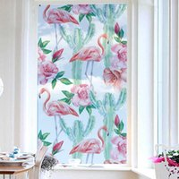 Wholesale self adhesive film for glass resale online - Glass Electricity Subsidies Home Furnishing Matting Window Film Toilet Shower Room Glass Push Pull Doors And Windows Subsidies