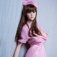 ingrosso grandi tette amano il sesso-NUOVO 165cm Grande petto TPE bambola del sesso giapponese bambole di amore in silicone per l'uomo Realistico Vagina reale figa anale Giocattoli sexy