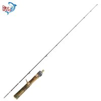 сигнальные фонари для удочек оптовых-RoseWood 1.4m Ultra Light Fishing Rod Fuji A Grade Guides 2 Section UL Fishing Rods Wood Handle, Solid Tip Pole