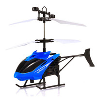 Wholesale indoor toy helicopter for sale - Group buy Remote Control Helicopter Toy Helicopter RC Infraed Induction New Gestures Toys Indoor Outdoor Play Fun Games