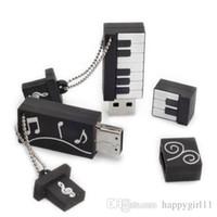 teclado genuino al por mayor-NUEVA LLEGADA Promoción de ventas Dibujos animados genuinos Memoria USB Teclado Pendrive Órgano electrónico Memoria Usb U252